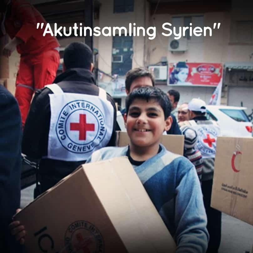Akutinsamling till Röda Korset