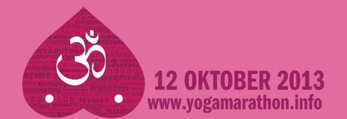 Yogamarathon mot Bröstcancer.
