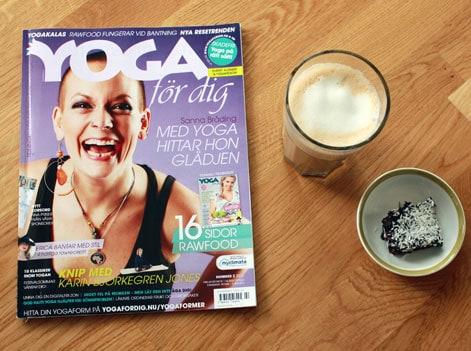 Senaste numret av tidningen Yoga för dig