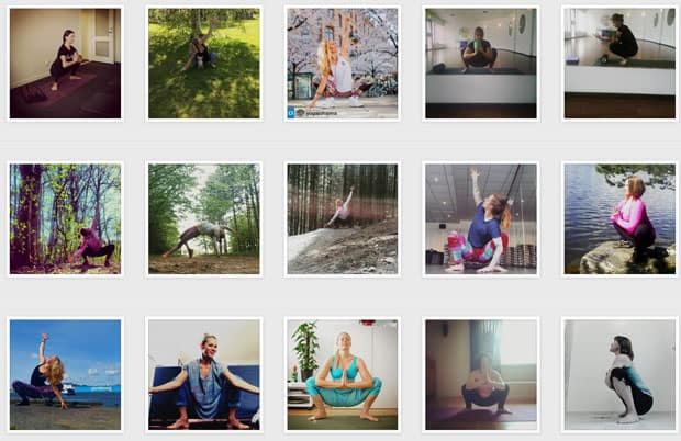 #Yogaspring - en utmaning på Instagram