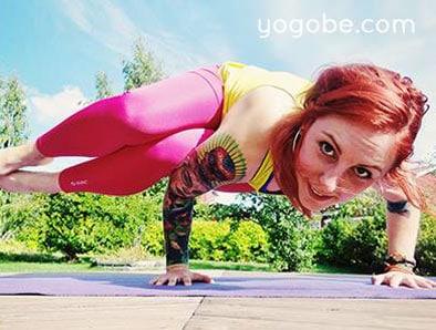 Yoga med Yogobe i Stockholm