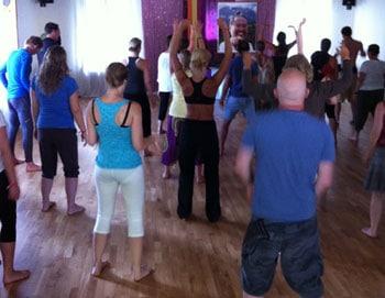 Yoga Shaking