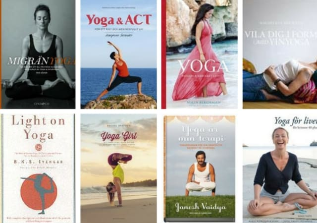 De mest populära yogaböckerna på adlibris.se just nu
