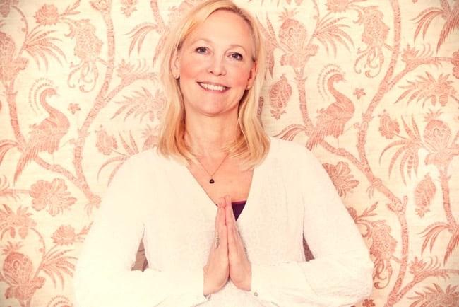 Veckans yogalärare Anette Hansson.