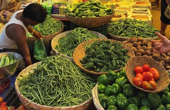 Så här ser det ut på marknaden i Indien.