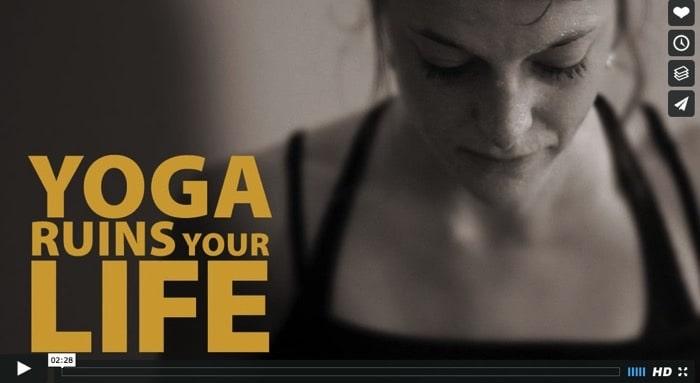 Yoga ruins your life - säger ashtangayogaläraren Richard Freeman