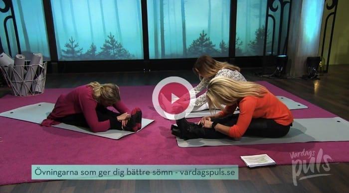 Yogaövningar som hjälper dig att sova - i Vardagspuls
