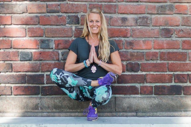 Veckans yogalärare Elin Grant. Veckans yogalärare Elin Grant. Fotograf: Emma Ekström