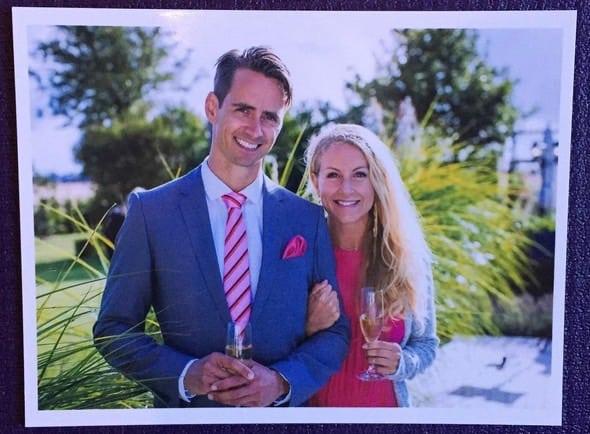 Yogaparet Johanna Andersson och Andreas Karlsson