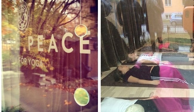 Hos Little Peace Yogastudio finns det rum för alla