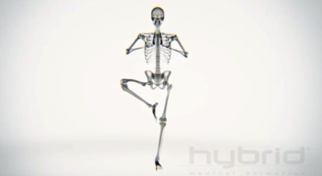Yoga genom X-ray