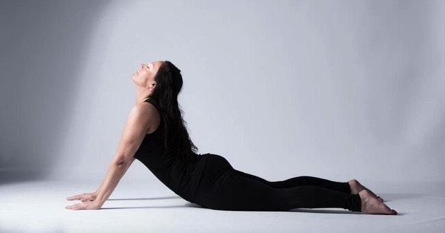 Veckans yogalärare Annika Roos