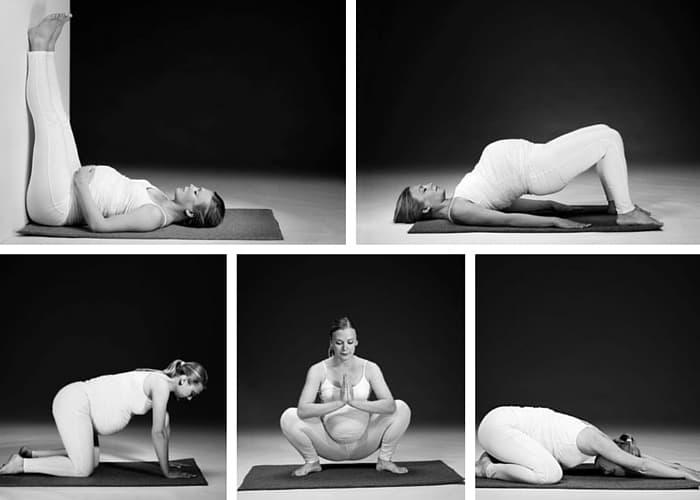 5 Yogapositioner för dig som är gravid