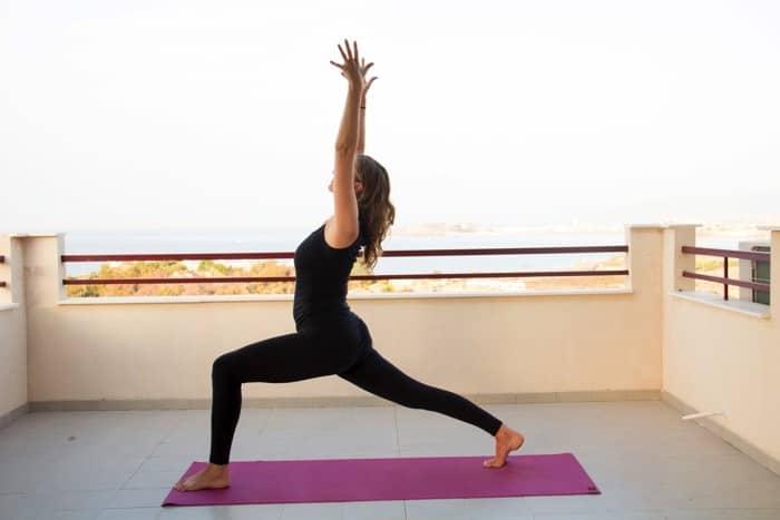 Yogaläraren Helena Wintre