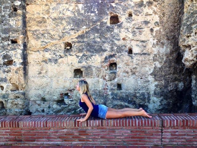 Solhälsningar & intensiv yoga har positiva effekter
