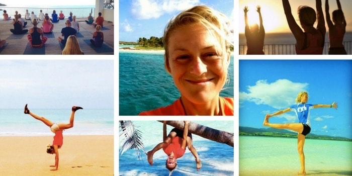 Veckans yogalärare: Maria Cerboni