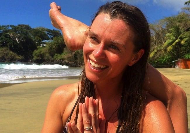 Veckans yogalärare Bella