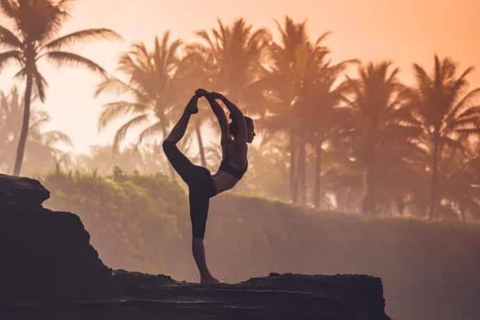 Bali har under de senaste åren blivit ett populärt resemål för yogaentusiaster. Foto: Alamy.
