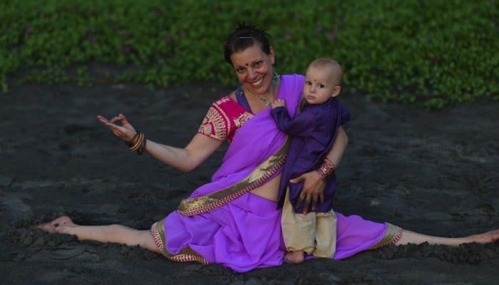 Veckans yogalärare Alexandra Arcari Gimdal