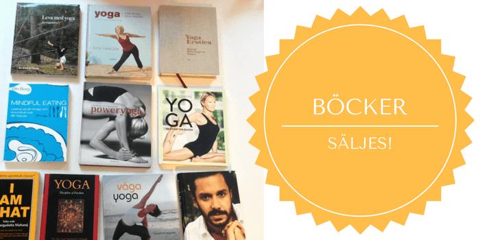 Yogaböcker och böcker om mindfulness och ayurveda säljes