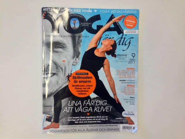 Det senaste numret av yogatidningen Yoga för dig finns ute nu!