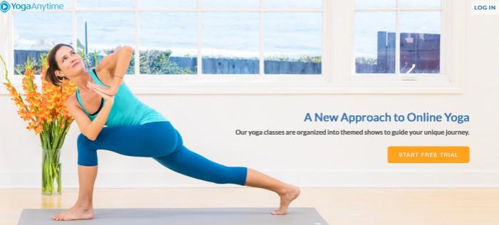 Gratis yoga online i 30 dagar hos Yoga Anytime!