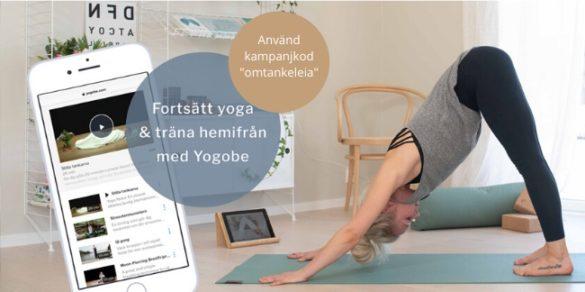 Yoga hemma för att hitta lugnet i corona tider