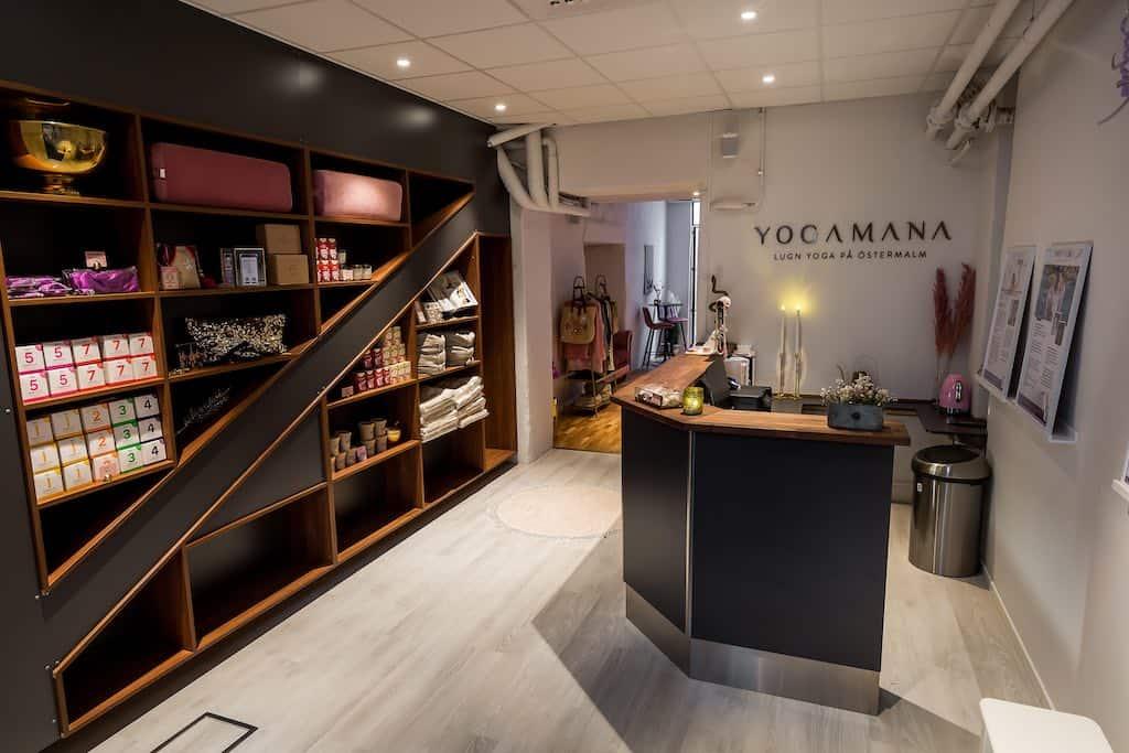 Yogastudion YogaMana i Stockholm